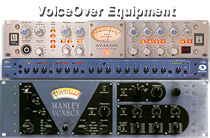 Voice Over Talent Mic Preamps